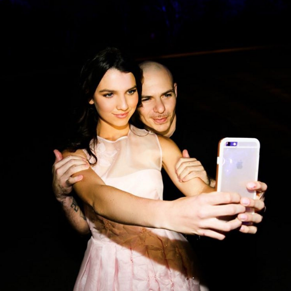 Ms Henry's Instagram is packed with celebrity selfies. Photo: Instagram