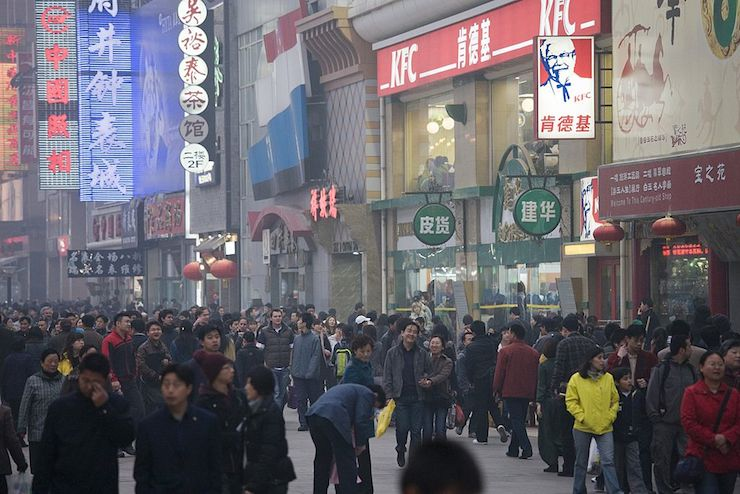 Beijing had a permanent population of 2.71 million as of the end of last year. Photo: Getty