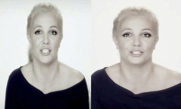 Britney Spears appeared stretched in this documentary compared to promotional material for it.