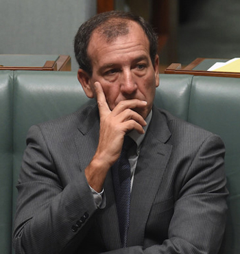 Former Special Minister of State Mal Brough.