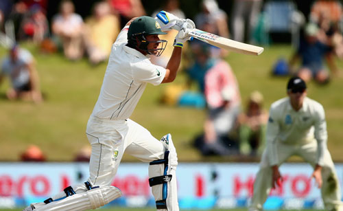 Burns was named man-of-the-match for his Christchurch performance. Photo: Getty