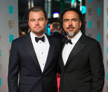DiCaprio and Inarritu are both likely to take home an Oscar. Photo: Gett