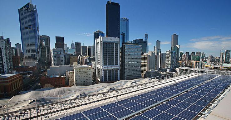 melbourne solar panels electricity