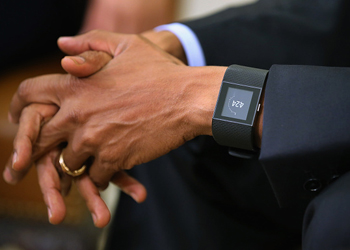 barack obama fitbit getty