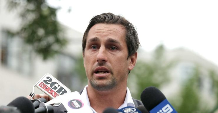 Mitch pearce back in Sydney