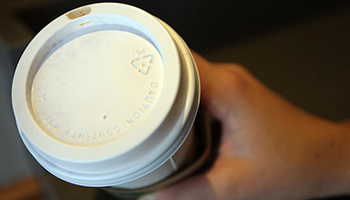 Recyclable cups would be more practical, but they come at a cost to cafe owners. Photo: Getty