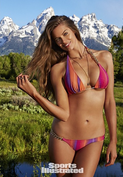 Robyn Lawley in the 2015 Sports Illustrated Swimsuit edition.