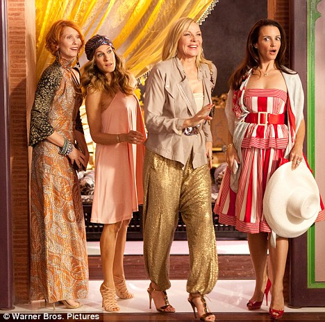 The Sex and the City 2 women were accused of production alterations.