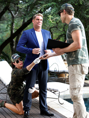 Warnie has been surprisingly good humoured about being robbed of life's luxuries on the show. Photo: Network Ten