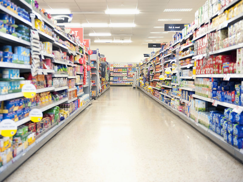 Consumers must be aware of potential health risks when buying groceries.
