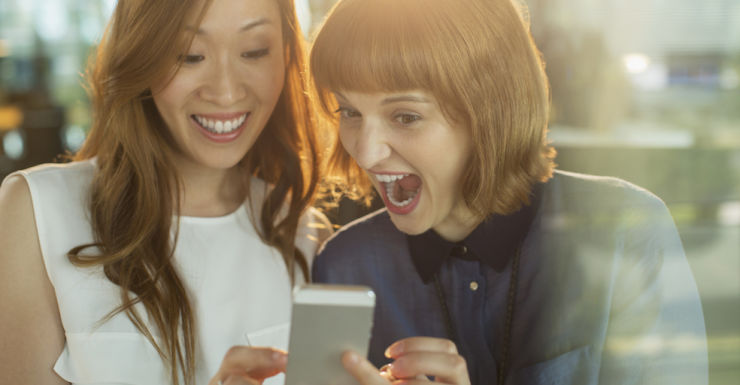 iphone women