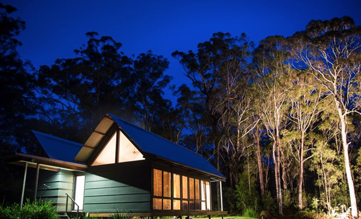 The Bower is set in amongst wildlife-filled bushland. Photo: Mark Berry/The Bower
