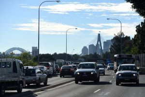 road usage charges would ease congestion. Photo AAP