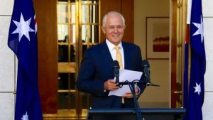 Malcolm Turnbull on smugglers