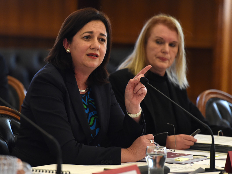 Qld Premier Annastacia Palaszczuk said Mr Pyne had let the party down.