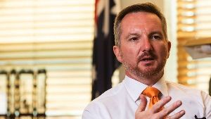 Shadow treasurer Chris Bowen. Photo: Andrew Taylor