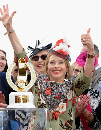 Gai Waterhouse will be gunning for a seventh Golden Slipper. Photo: Getty