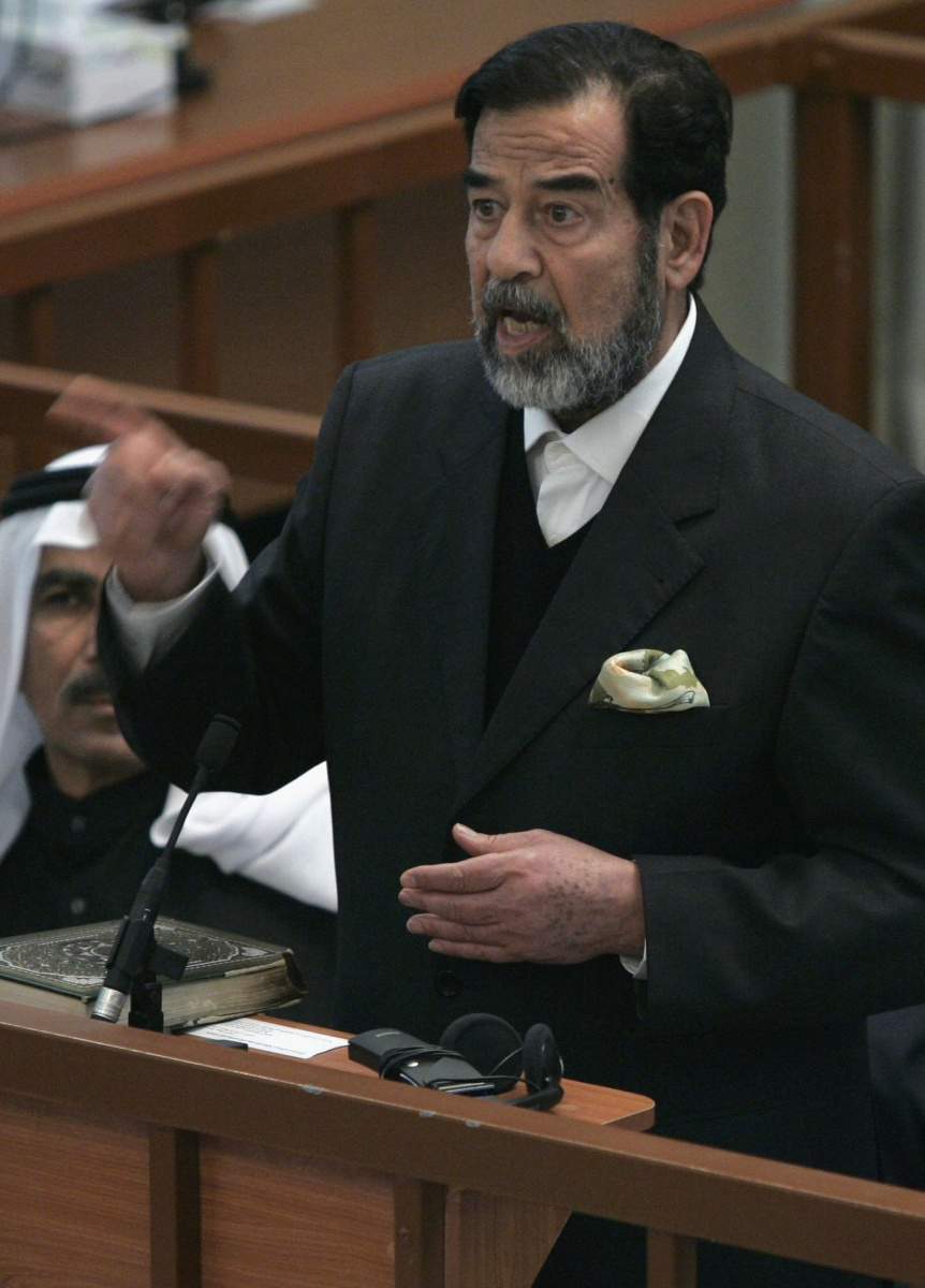 The spectre of Saddam Hussein, and his Baath party, looms large over the current conflict. Photo: Getty