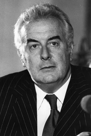 Gough Whitlam defeated Billy Snedden by double dissolution in 1974. Photo: Getty