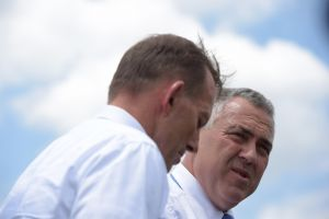 Abbott and Hockey restricted foreign investment. Photo:AAP