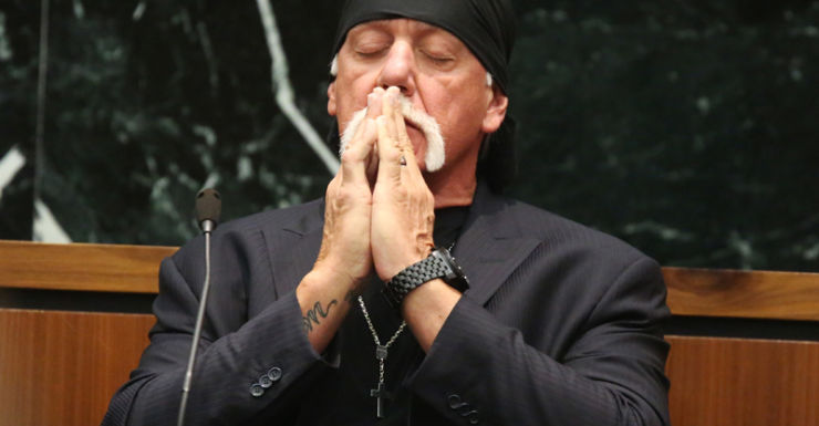 Hulk Hogan in court