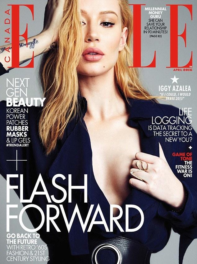 Azalea on the cover of Elle Canada.