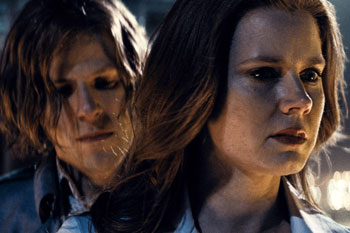 Jesse Eisenberg and Amy Adams give excellent performances. Photo: AAP