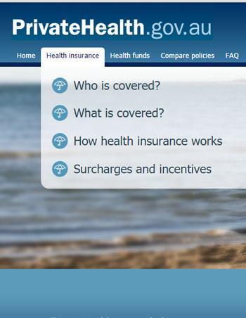 CHOICE recommends using PrivateHealth.gov.au for the best comparison. Photo: PrivateHealth.gov.au