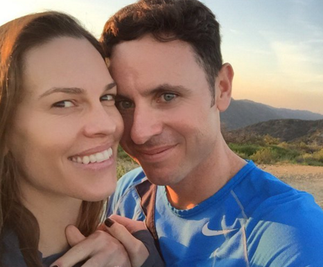 Hilary Swank engaged