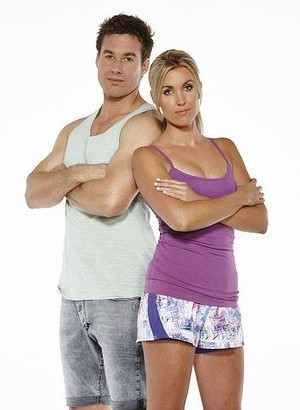 Tim and Jackie. Fitness instructors. Of course they are. Photo: Getty