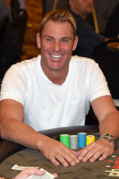 The Shane Warne Foundation organised events like charity poker games. Photo: Getty