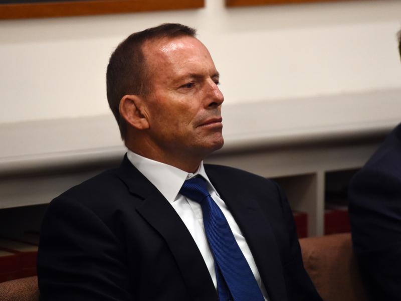 Tony Abbott quizzed Malcolm Turnbull on savings.