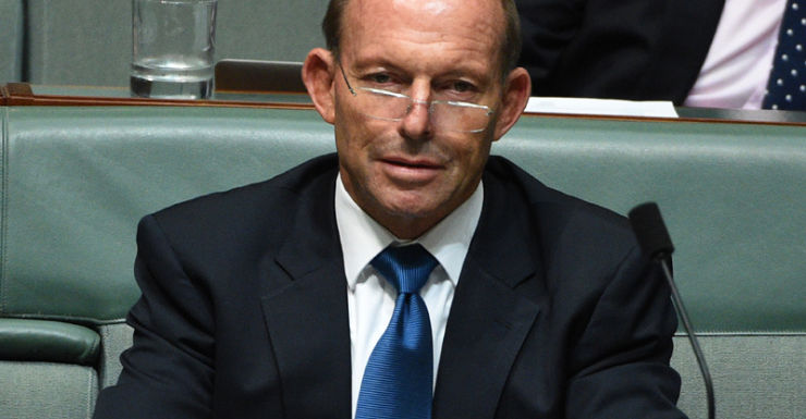 "Mr Abbott said he was ""flabbergasted at the decision""."