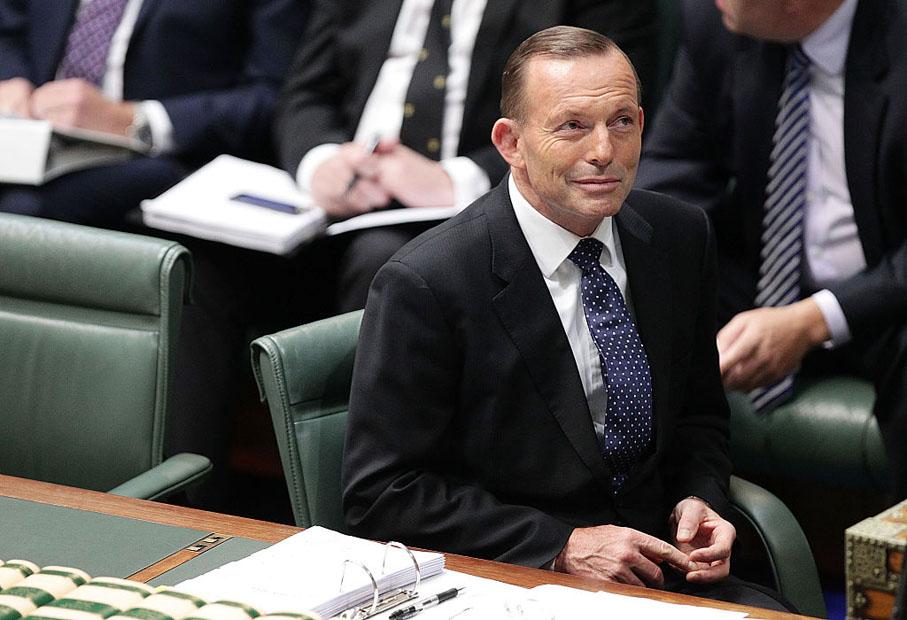 Tony Abbott former prime minister