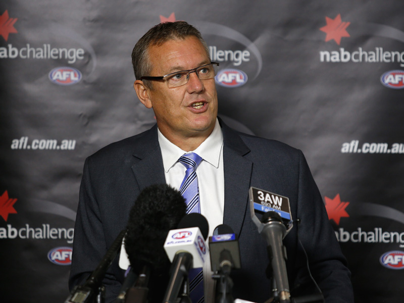 AFL boss Mark Evans said they would assess the requests.