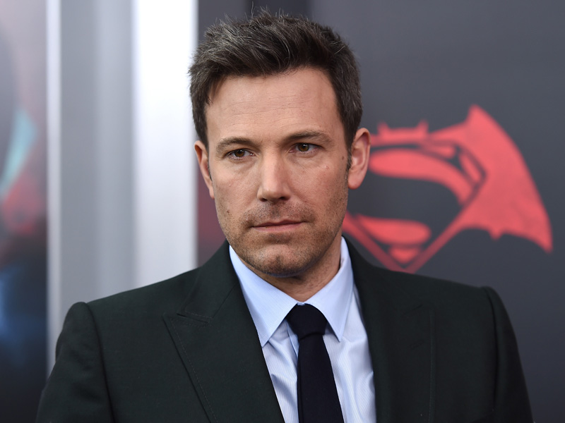 Affleck was photographed with the tattoo while on a film set.