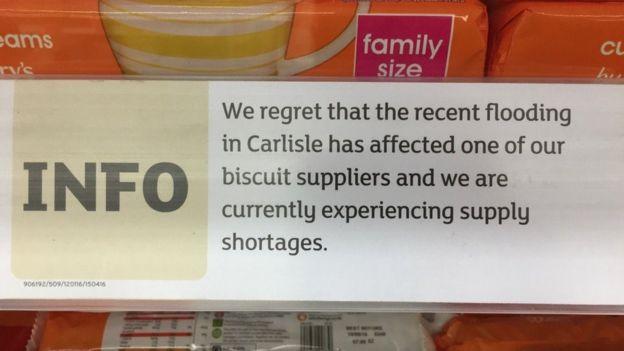 Twitter biscuit shortage