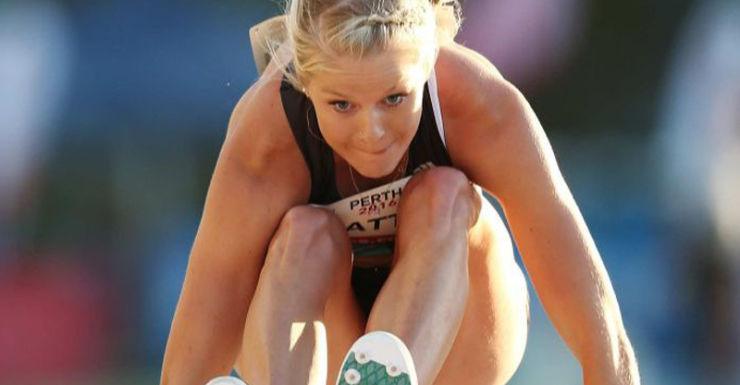 Brooke Stratton long jump