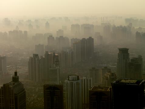 shanghai pollution