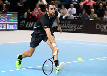 Marin Cilic has returned from a doping ban and found form. Photo: Getty