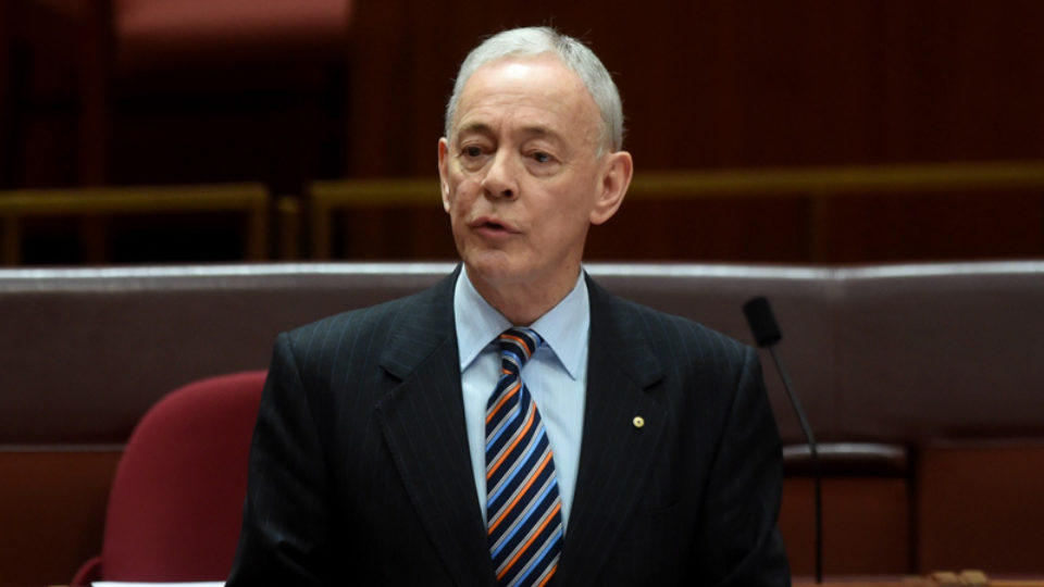 Family First senator Bob Day is resigning after his building business collapsed
