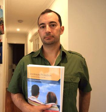 Evan Pashalis found out he had leukaemia in 2014.