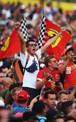 Most Formula One fans are men. Photo: Getty