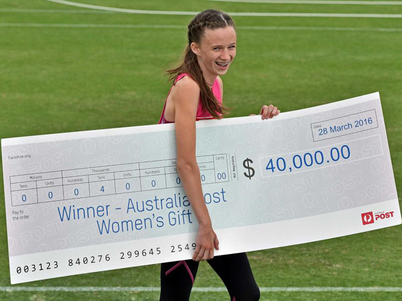 Talia Martin will have to pay a $2,000 fine out of her winnings of $40,000.