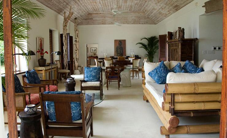 Inside the Fleming Villa. Photo: Goldeneye