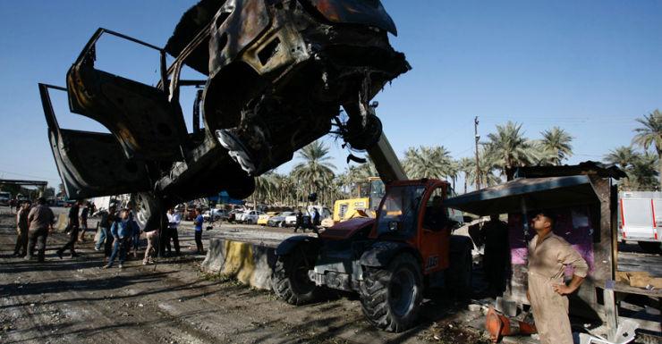 Hilla bombing Iraq