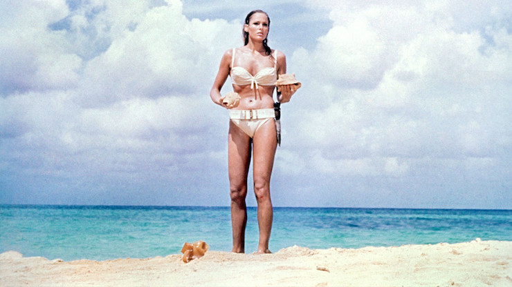 Chris Blackwell was responsible for sourcing the location for Ursula Andress' iconic bikini scene.