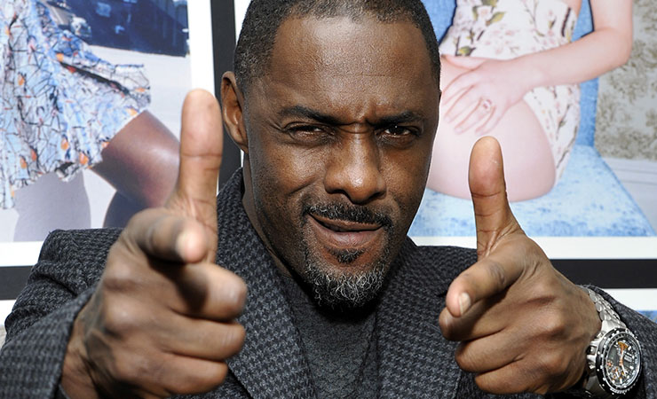 Idris Elba was one of the most popular male actors in pilot season. Photo: Getty