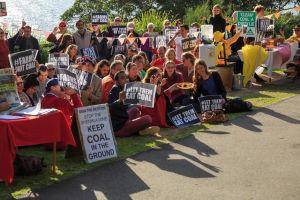 mining protest