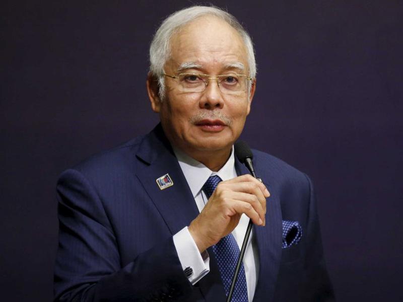 Prime Minister Najib Razak was removed from office in 2015.
